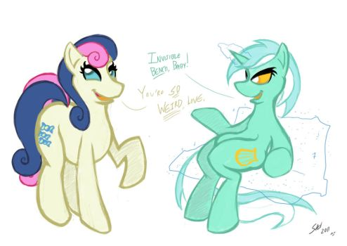 Silliness - Invisible Bench by grayscalerain