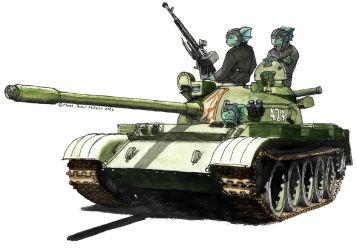 T-54-55 by A-Teivos