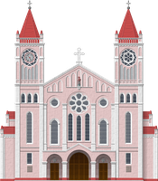 Baguio Cathedral by Herbertrocha
