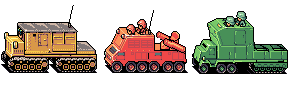 Advance Wars RCCs by solarconquest