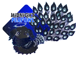 { Pacapillar-Advent } Midnight Peafowl (Over) by Zoomutt