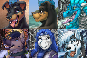 Winter Icons Batch 1 by Ifus