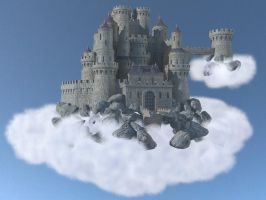 King of the castle by AlmogGFX