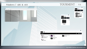 Tourment a new visual style for windows 7 by 2befree