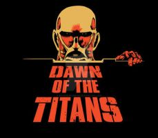 Dawn of the Titans by savagesparrow
