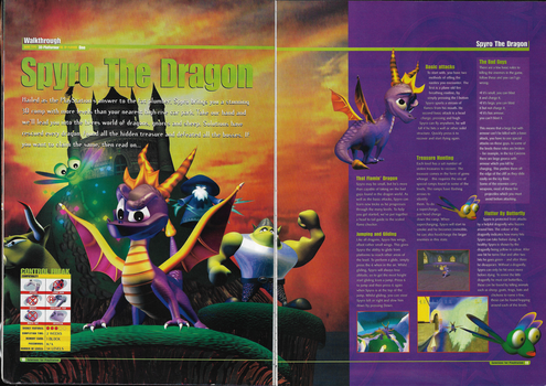 Spyro pg. 10 and 11: Ultimate Solutions Guide by DarthArchanist