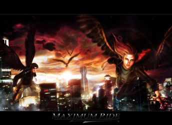 Book Projects: Maximum Ride Press Poster Concept by sundang