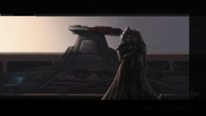 Goodbye Ahsoka. Goodby Barriss by Montano-Fausto