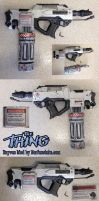 The Thing MacReady Flamethrower Nerf Rayven Mod by GirlyGamerAU