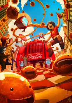 Coca-Cola by Ry-Spirit
