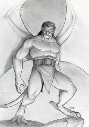 Goliath by RobtheDoodler