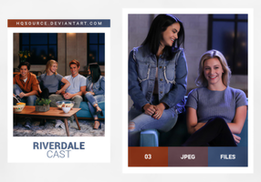 Photopack 1685 // Riverdale Cast by HQSource
