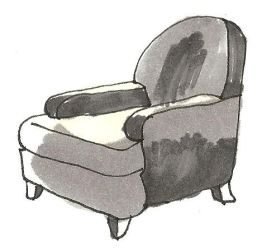 Chair- Grey Tone by bagtop