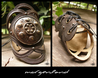 Celtic shield bracer by morgenland