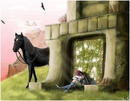 Shadow of the Colossus by Hani7
