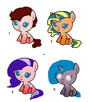 Filly Adopts ~Closed~ by cheapadopts101
