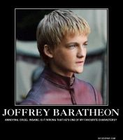 Game of Thrones, Joffrey Baratheon by TheBlackestVampire