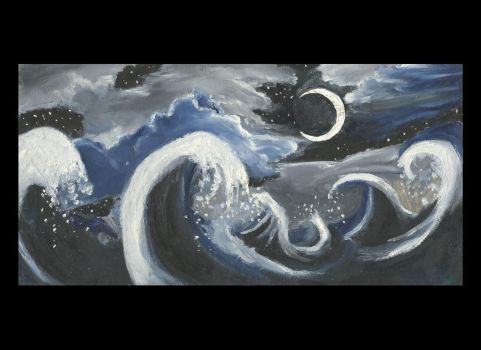 Ocean Night by intercoutures