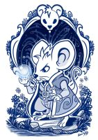 Mouse wizard by EdgarSandoval