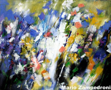 Abstract - floral by zampedroni