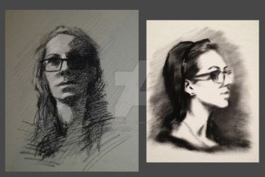 Portrait Studies by VictoriaSteel