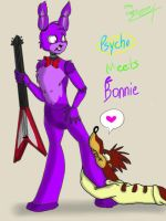 Psycho meets Bonnie by RayleeAnne