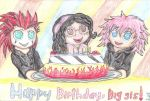 A Birthday to my Sister .July 2013. by TLK-Peachii