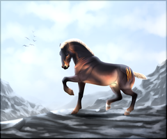King of the Mountain by Moose-On-Ice