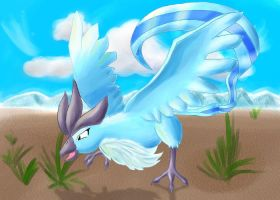 Shining Articuno by soulturtle