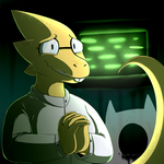 Alphys by ShinyRaupy