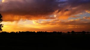Solstice Sunset 1 by SerenAletheia