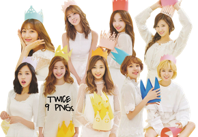 TWICE PNG Pack {TWICEZINE Vol. 2 2017} HD by soshistars