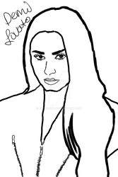 realism demi lovato by OliviaCxt