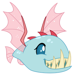 Vector - Bitey Bugfish by SketchMCreations