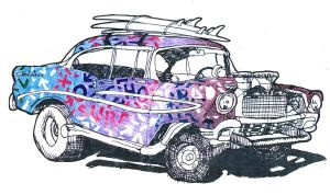 55 Chevy Surf Buggy by ibnelson