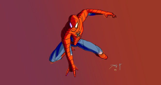 Day 298-Spider-man 24 by Dan21Almeida95