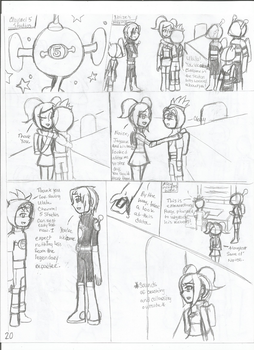 SpaceChannel5 Love and Rhythm: The Beginning 1-20 by nightsfangirl23
