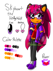 Skyheart's New Reference by Mobian-Gamer