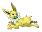 04: Jolteon by allocen