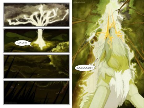 Giderah Issue 1 page 1 - 2 by Plaguedog