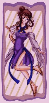 Muse Terpsichore by lordaphaius28