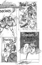 Tenacious D Sketches 2of2 by J-Scott-Campbell