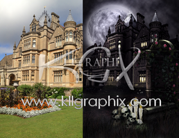 Premade Gothic Background #8 by MakeMeMagical