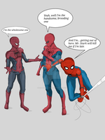 Into the...... Spiderverse? by zombiebasher64
