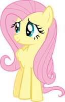 Fluttershy by Shnakes