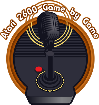 2600 Game by Game Podcast logo concept by doncroswhite