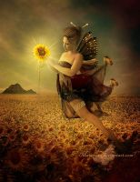 Sunflowers Fairy by maiarcita