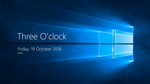 Windows Time and Date - Rainmeter Skin by khaleelmuhammad1998