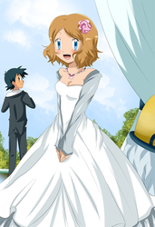 amourshipping wedding? by hikariangelove
