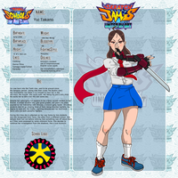 Rival Schools   The New Class- Yui Takano by JSRT